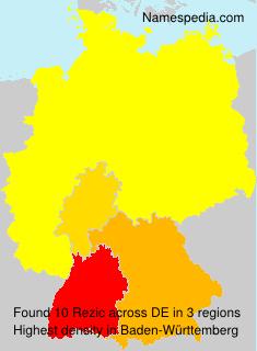 Surname Rezic in Germany