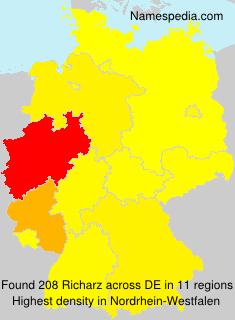 Familiennamen Richarz - Germany