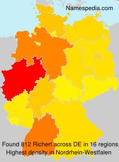 Surname Richert in Germany