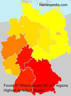 Familiennamen Rivera - Germany