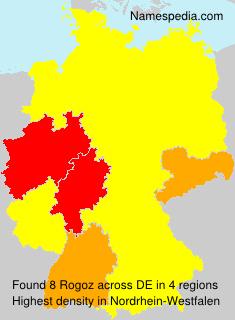 Surname Rogoz in Germany
