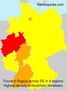 Familiennamen Rogula - Germany