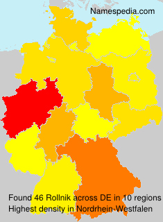 Surname Rollnik in Germany