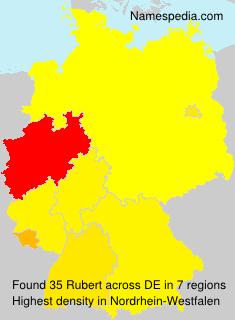 Surname Rubert in Germany