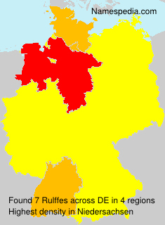 Surname Rulffes in Germany