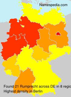 Surname Rumprecht in Germany
