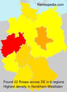 Familiennamen Rzepa - Germany