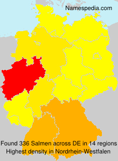 Surname Salmen in Germany