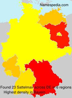 Familiennamen Sattelmair - Germany