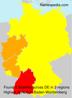 Surname Scaletta in Germany