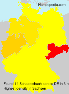 Surname Schaarschuch in Germany