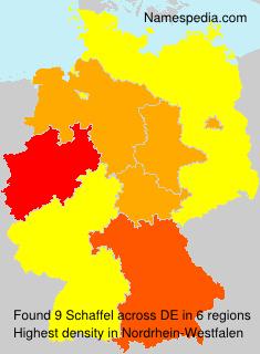 Familiennamen Schaffel - Germany