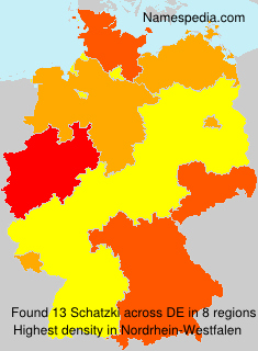 Familiennamen Schatzki - Germany