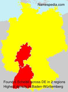 Familiennamen Scheibli - Germany
