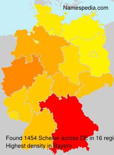 Surname Scheller in Germany