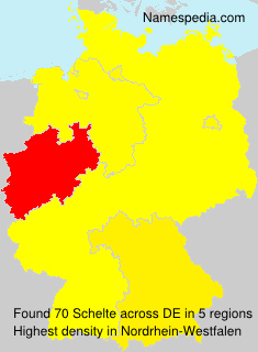 Surname Schelte in Germany