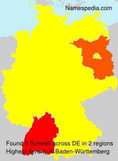 Surname Schiebli in Germany