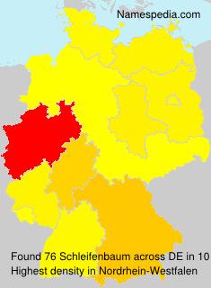 Surname Schleifenbaum in Germany