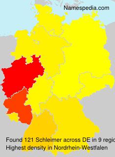 Surname Schleimer in Germany