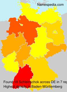 Surname Schleinschok in Germany