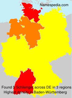 Familiennamen Schlienger - Germany