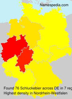 Surname Schluckebier in Germany
