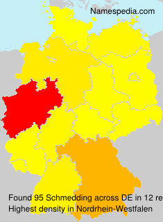 Surname Schmedding in Germany