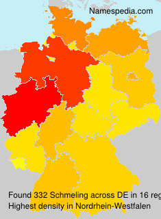 Surname Schmeling in Germany