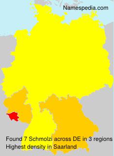 Surname Schmolzi in Germany
