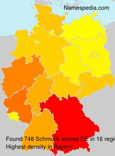 Familiennamen Schmuck - Germany
