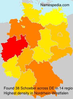 Familiennamen Schoebel - Germany