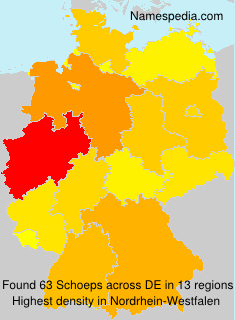 Surname Schoeps in Germany