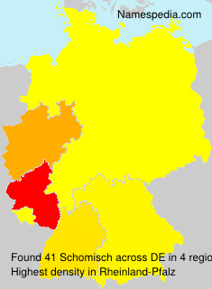 Surname Schomisch in Germany