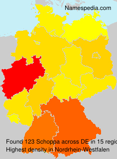 Familiennamen Schoppa - Germany