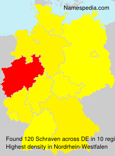 Surname Schraven in Germany