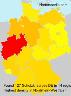 Surname Schulzki in Germany