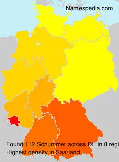 Familiennamen Schummer - Germany
