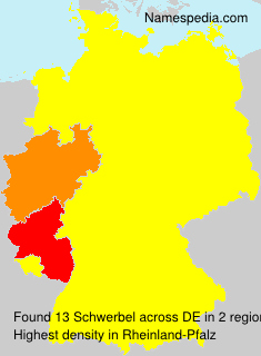 Surname Schwerbel in Germany