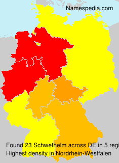 Surname Schwethelm in Germany
