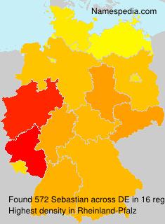 Familiennamen Sebastian - Germany