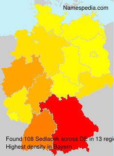 Familiennamen Sedlacek - Germany