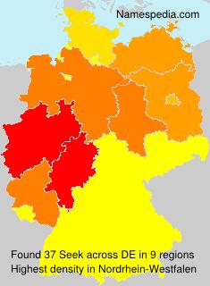 Surname Seek in Germany