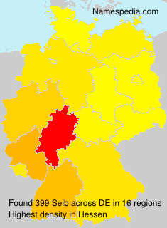 Familiennamen Seib - Germany