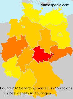 Surname Seifarth in Germany