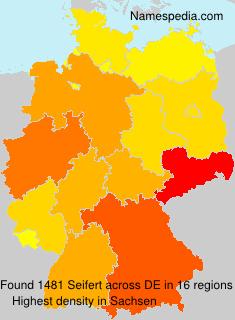 Surname Seifert in Germany