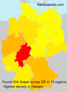 Surname Seipel in Germany