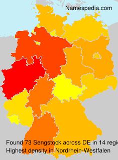 Familiennamen Sengstock - Germany