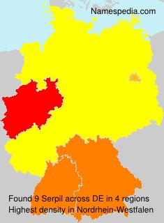 Familiennamen Serpil - Germany