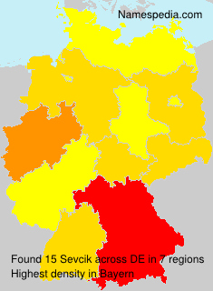 Surname Sevcik in Germany
