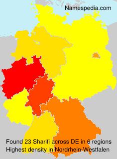 Surname Sharifi in Germany